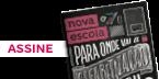 Capa da Revista NOVA ESCOLA com um botão de assine
